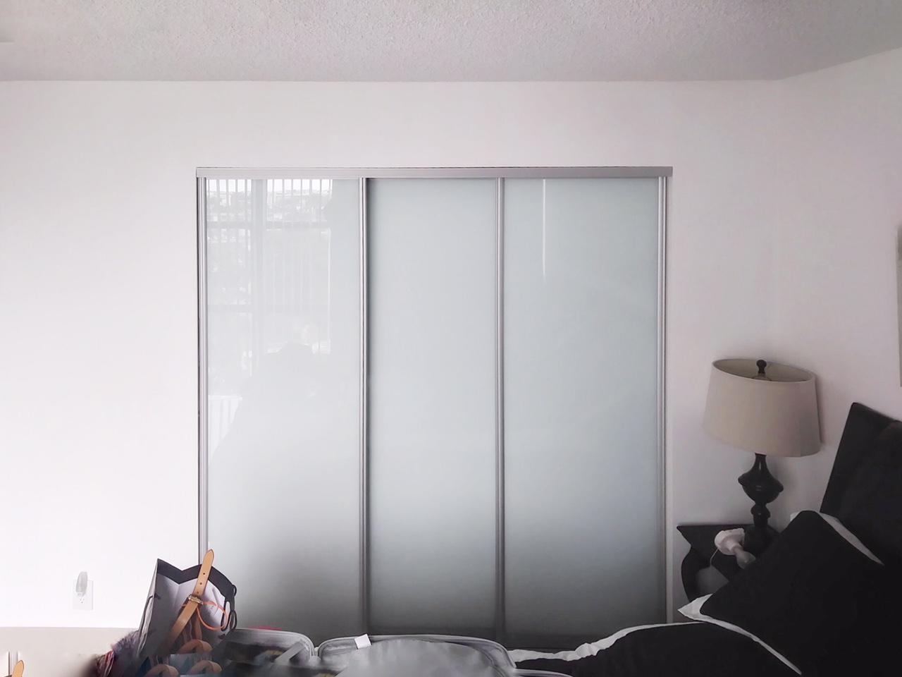 European Interior Sliding Door For Closets Nice Trio 3 Bypass