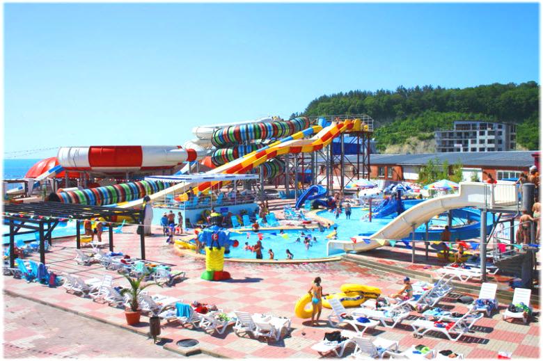 Аквапарк Лето в Ольгинке