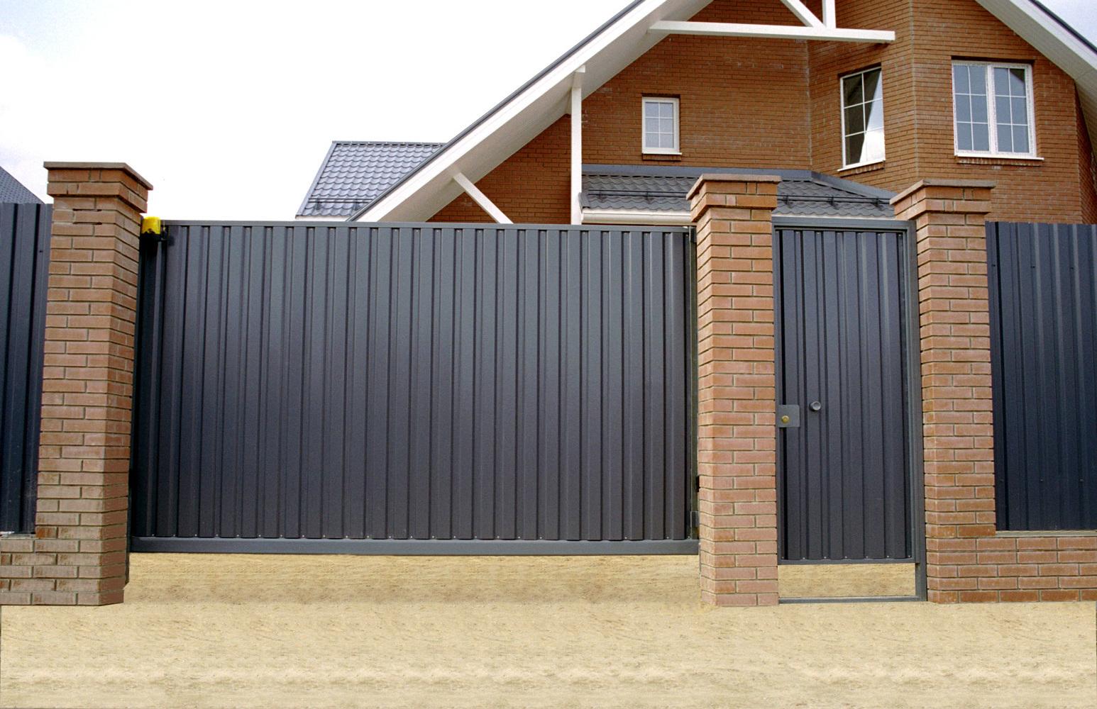 металлические ворота воронеж изготовление