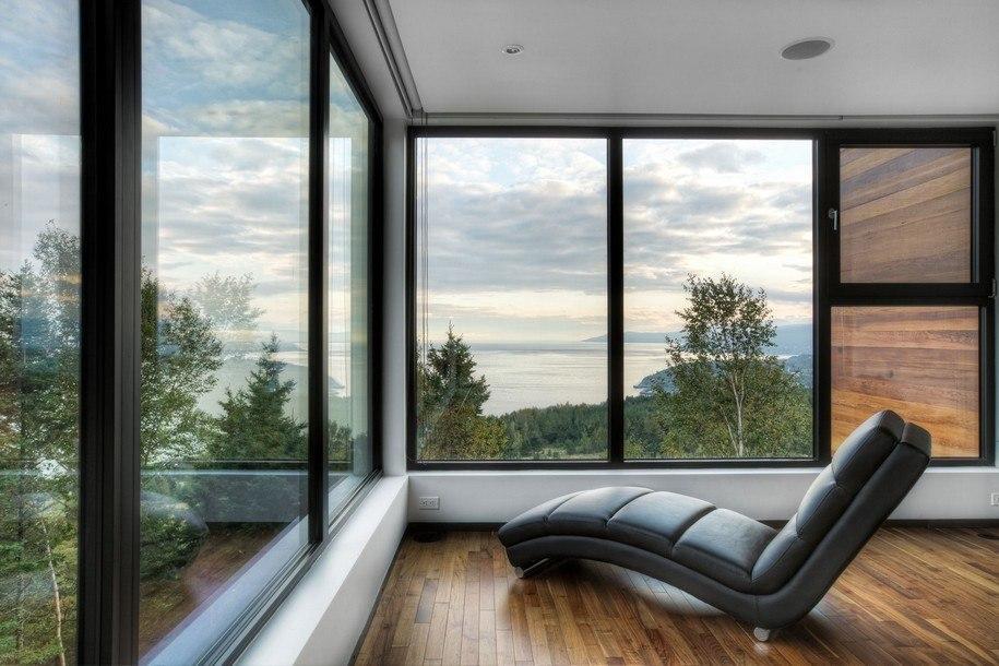 Дачный домик - панорамный павильон