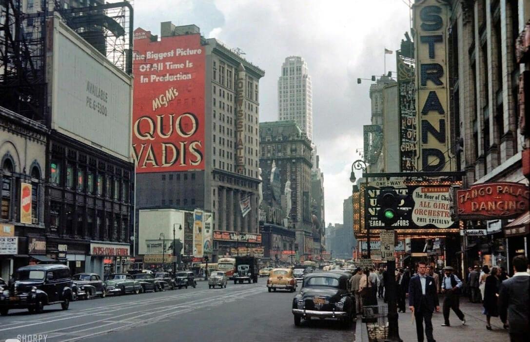 неоновые вывески в старом нью йорке