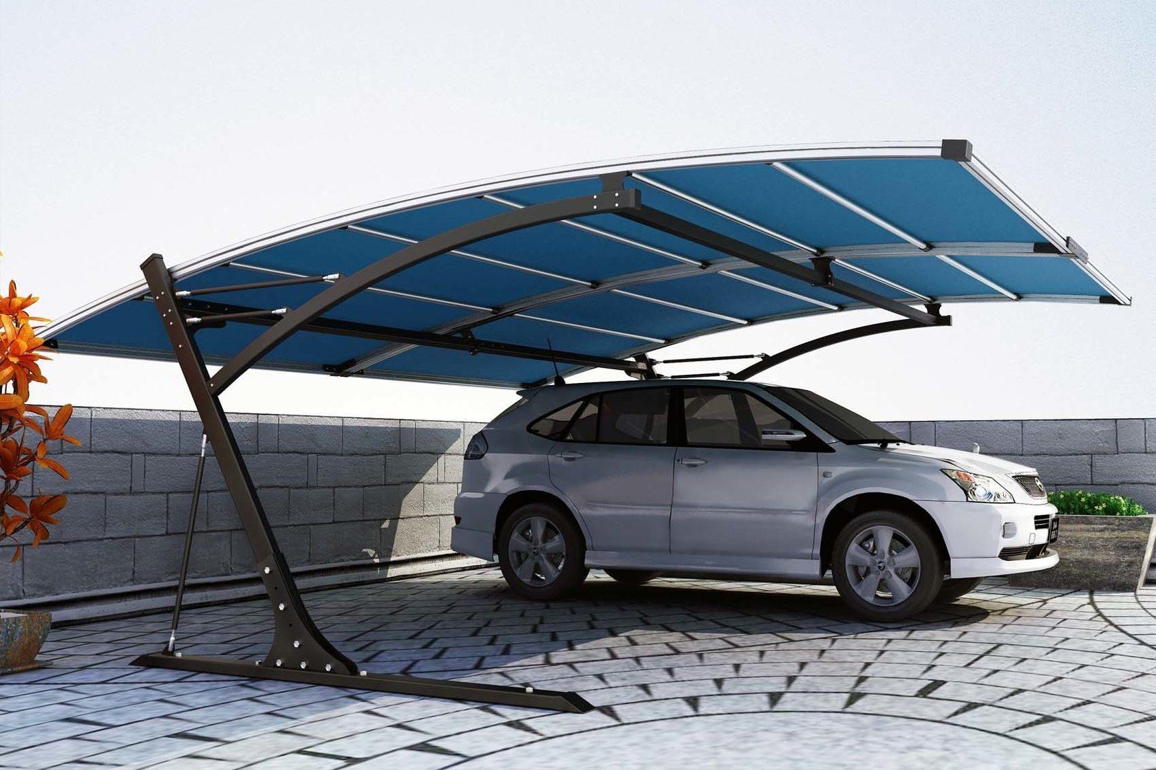 надёжные навесы для авто из поликарбоната