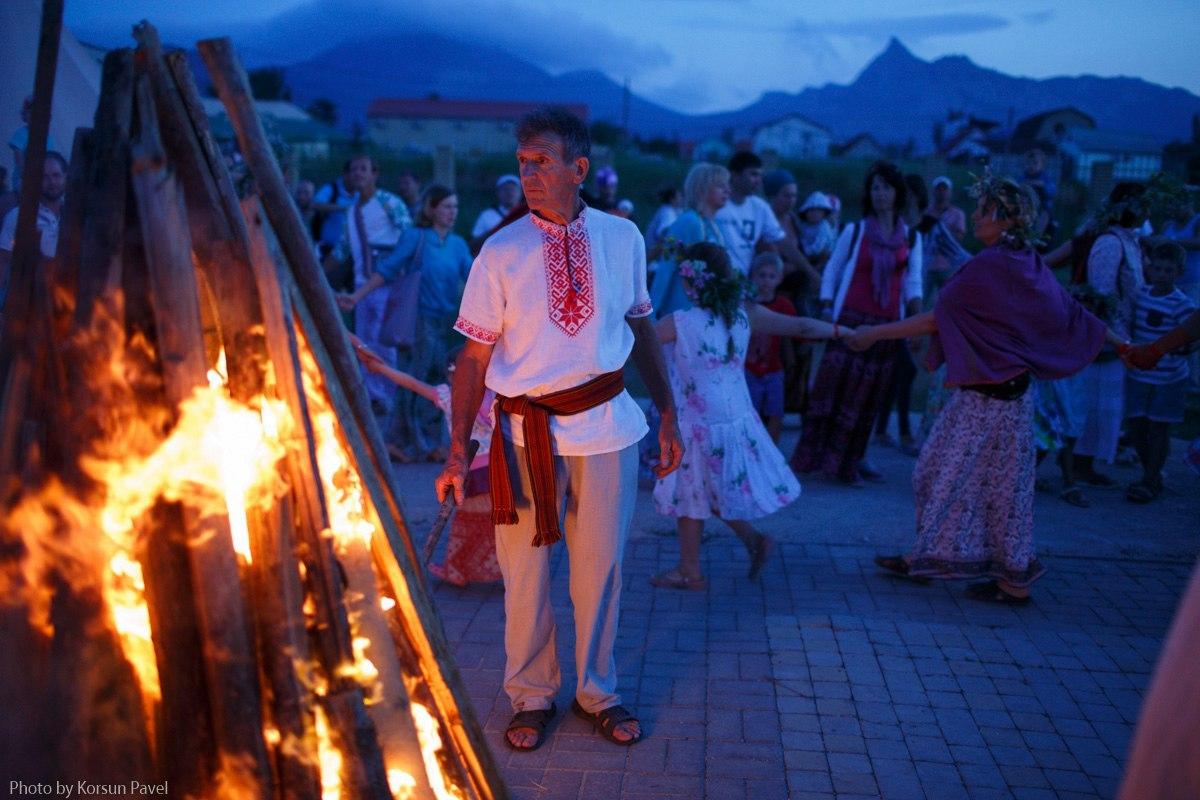 Сурьяфест в Коктебеле Праздник Купало