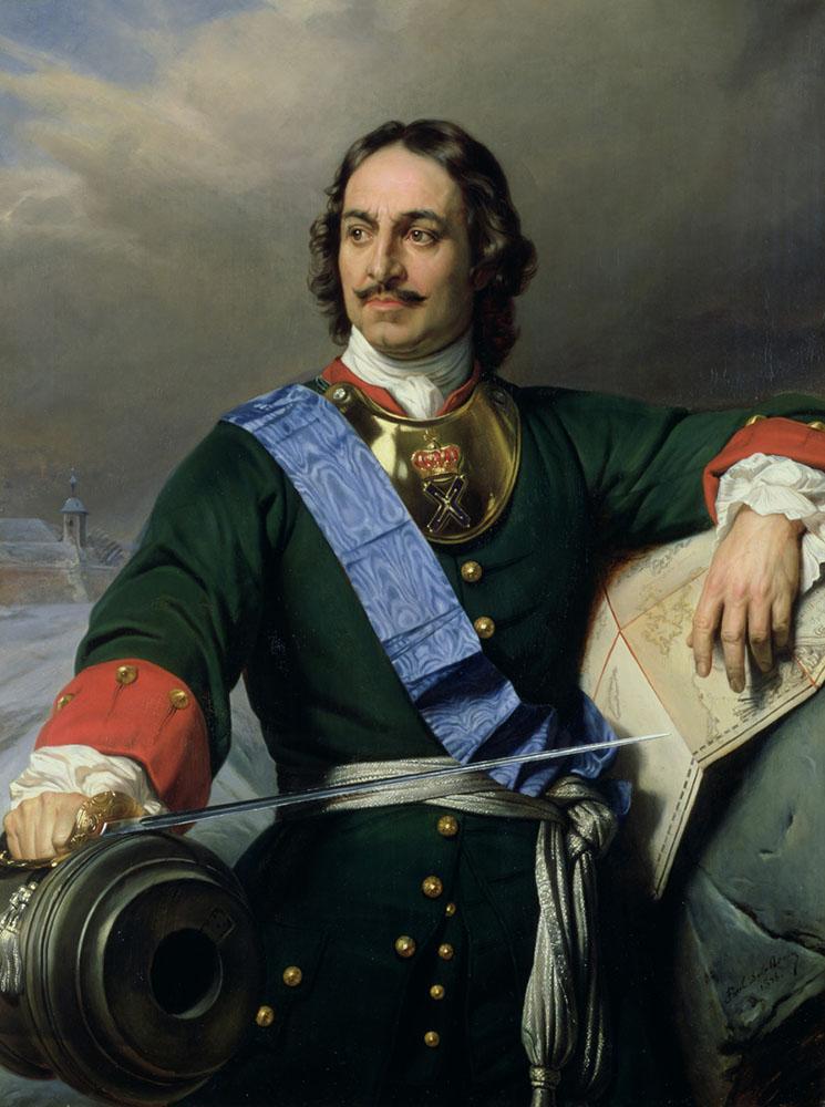 «Пётр Великий», Поль Деларош, 1838 г