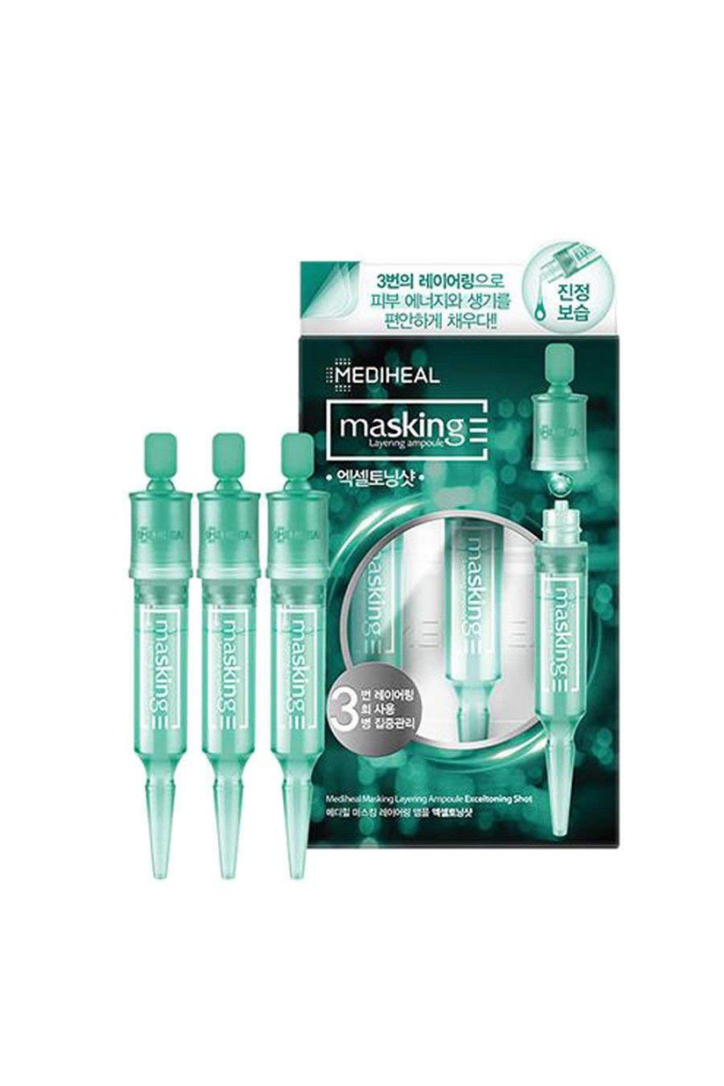 Маскирующая многослойная ампула Mediheal Masking Layering Ampoule Exceltoning Shot