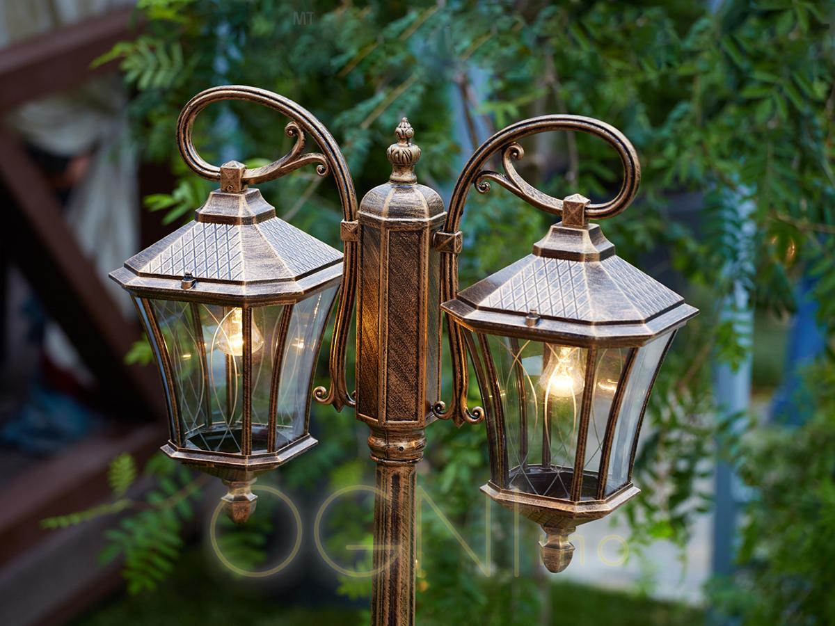 картинки садовый светильник