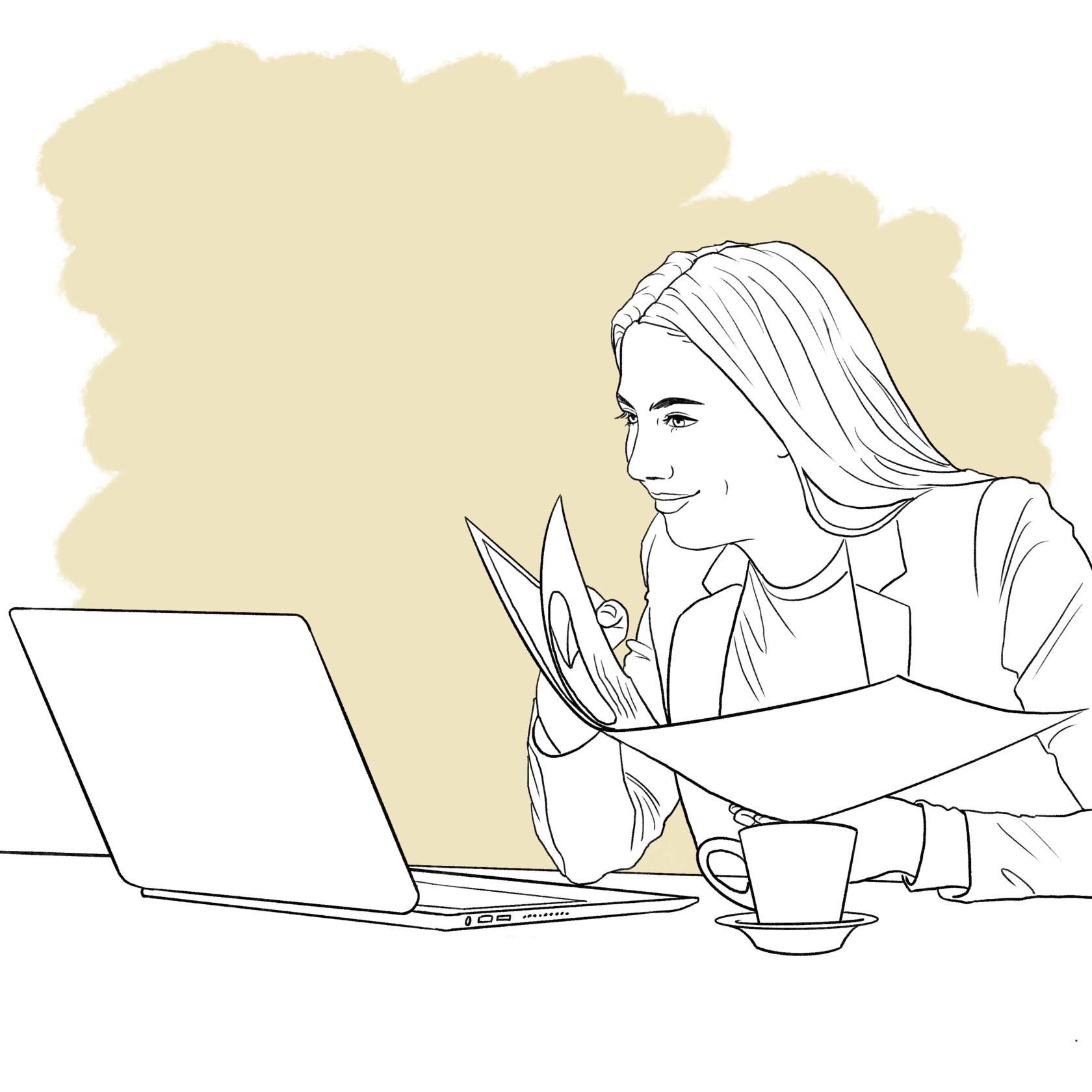 дистанционная девушка модель работы