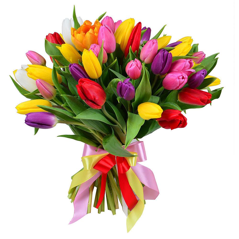 Цветы букеты красивые из тюльпанов картинки