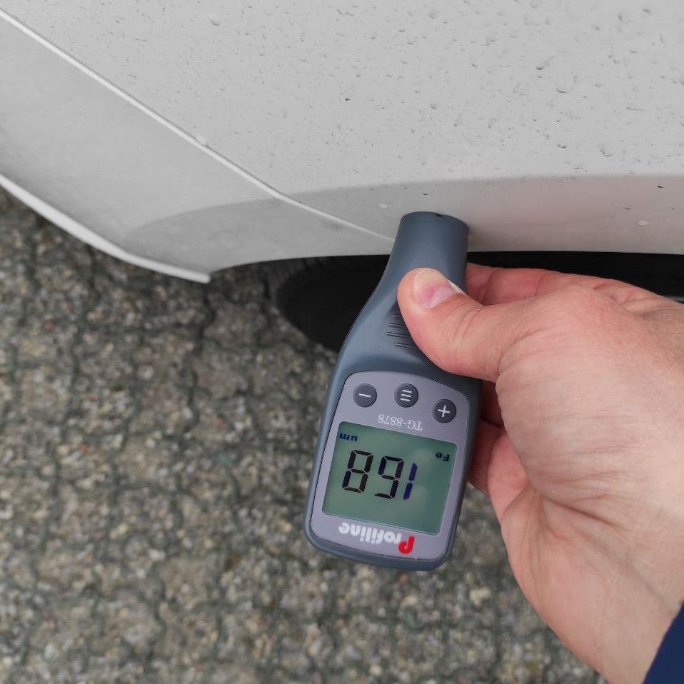 Тестируем автомобиль: измеряем толщину краски