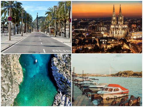 Барселона, Мальта, Белград и Кельн в октябре