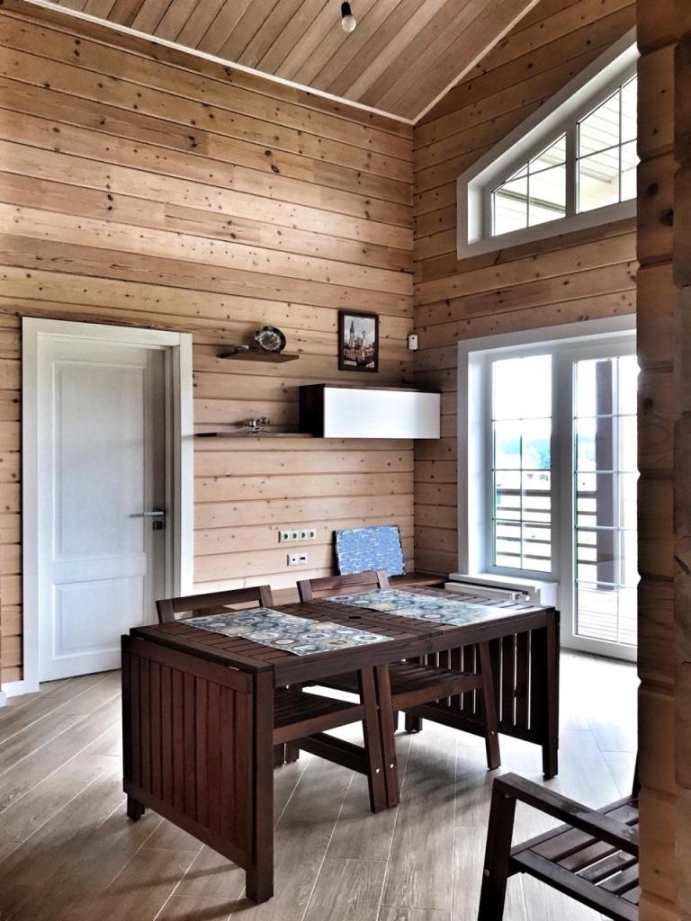 отделка стен деревянного дома внутри фото обоих случаях рецепт