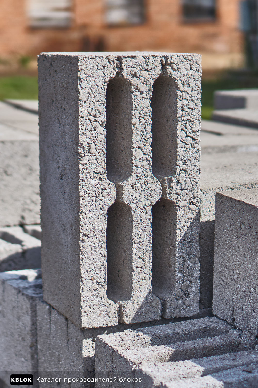Геометрия четырехщелевого блока