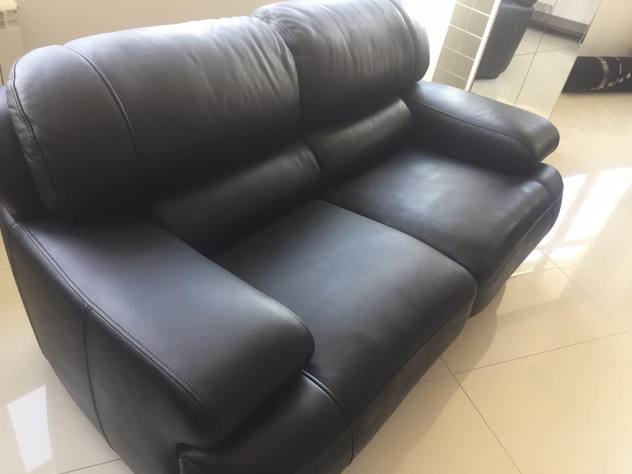 Перекраска кожаного дивана