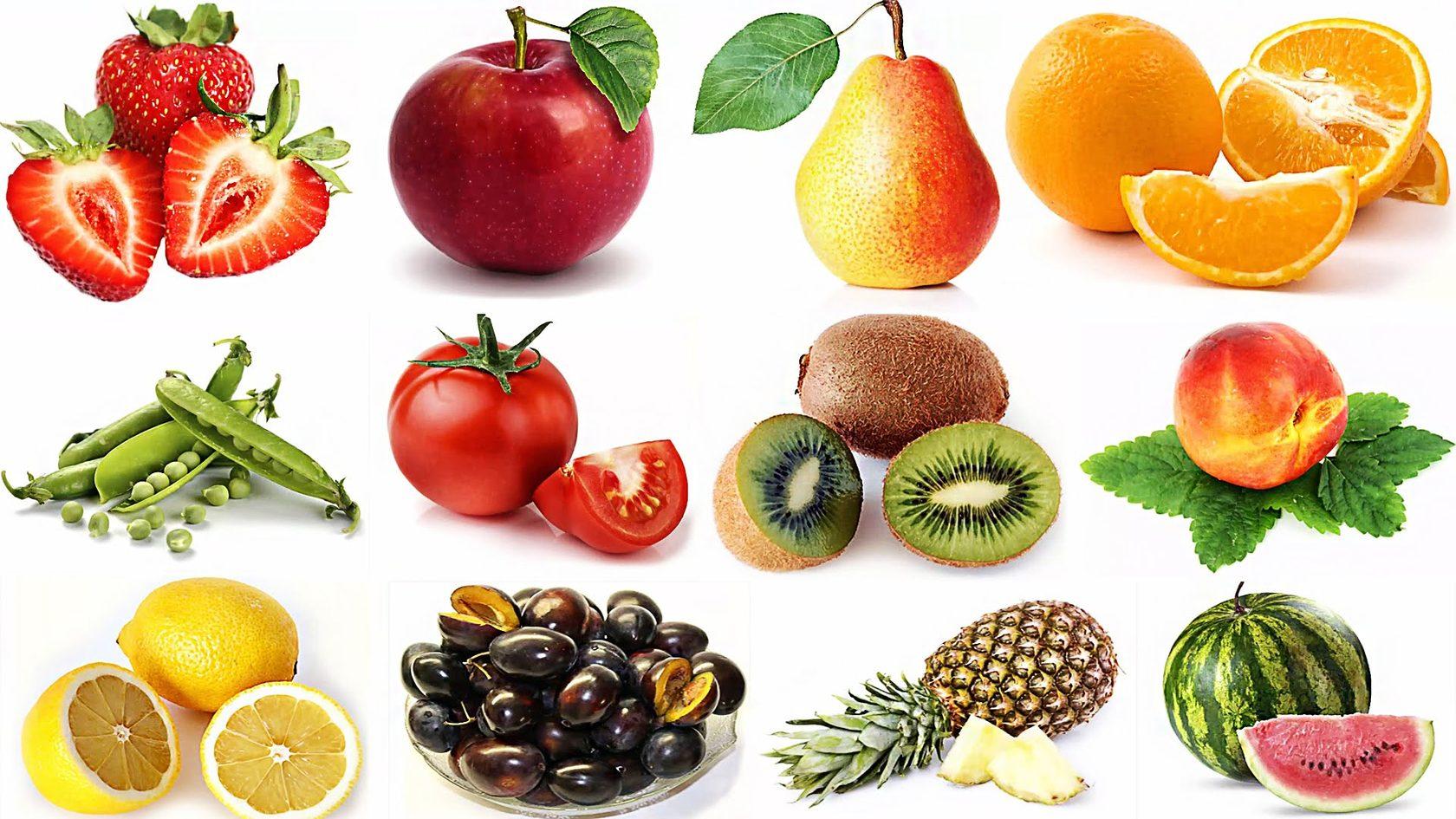 Картинки, много фруктов картинки для детей