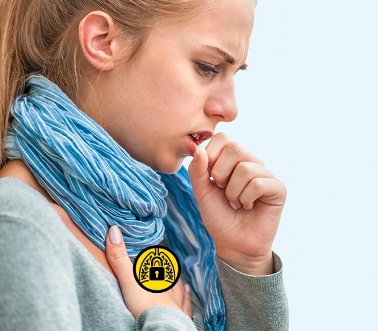 затрудненное дыхание при боли в горле