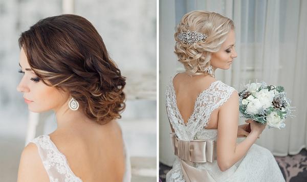 Свадебные прически на средние волосы с фатой: рекомендации