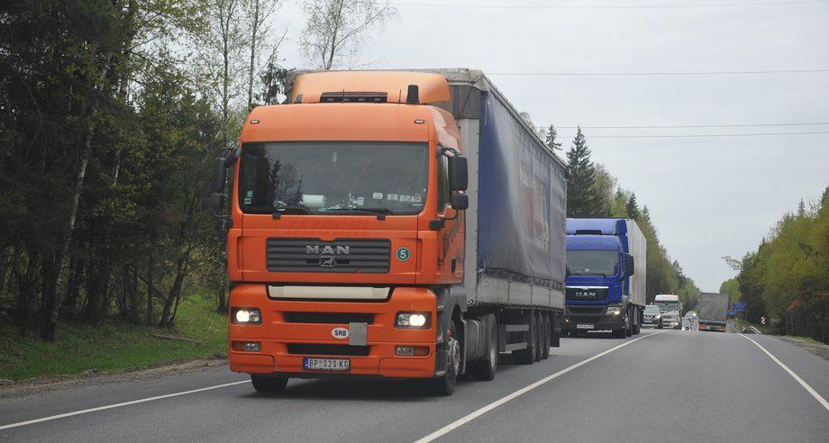 Немецкие грузовики MAN оказались одними из самых востребованных иномарок на рынке б/у техники по итогам января (фото: ГиД / Денис Хуторецкий)