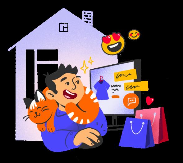 иллюстрация Как трансформируются маркетинг и онлайн-продажи