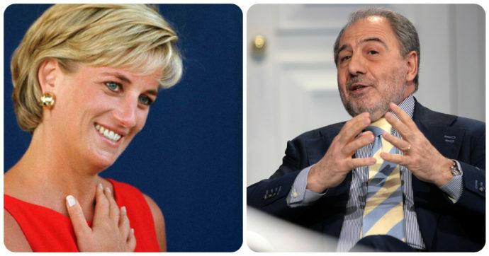 Lady Diana Spencer e Antonio Caprarica