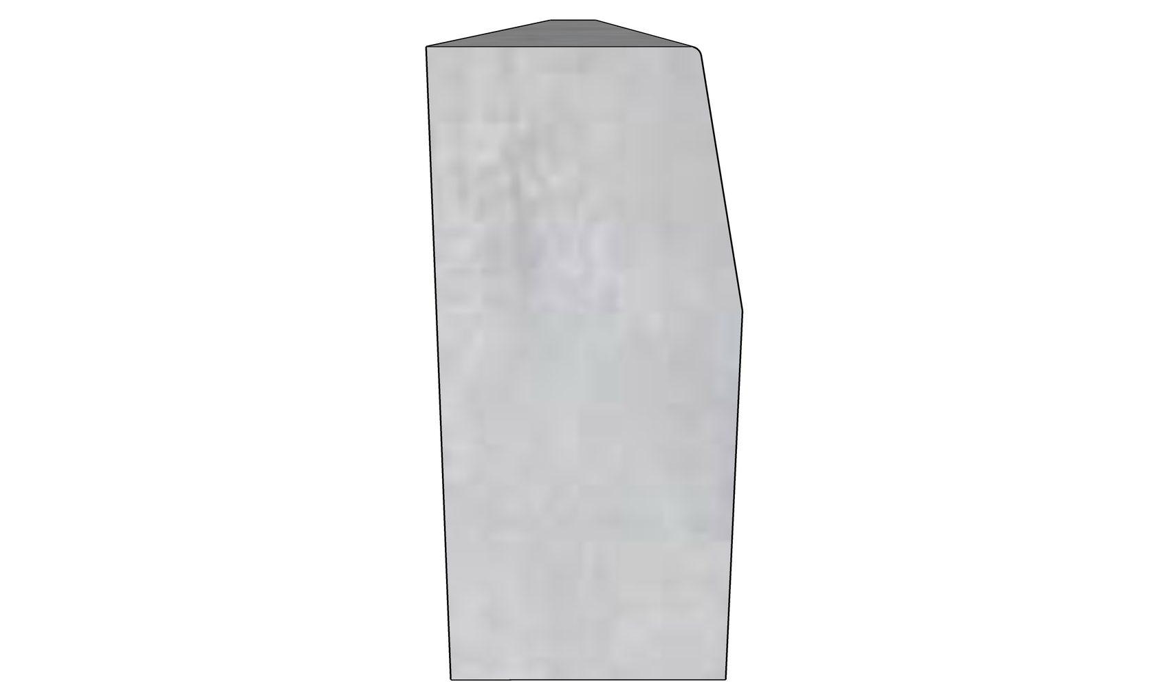 Бордюрный камень БР-300-45-18