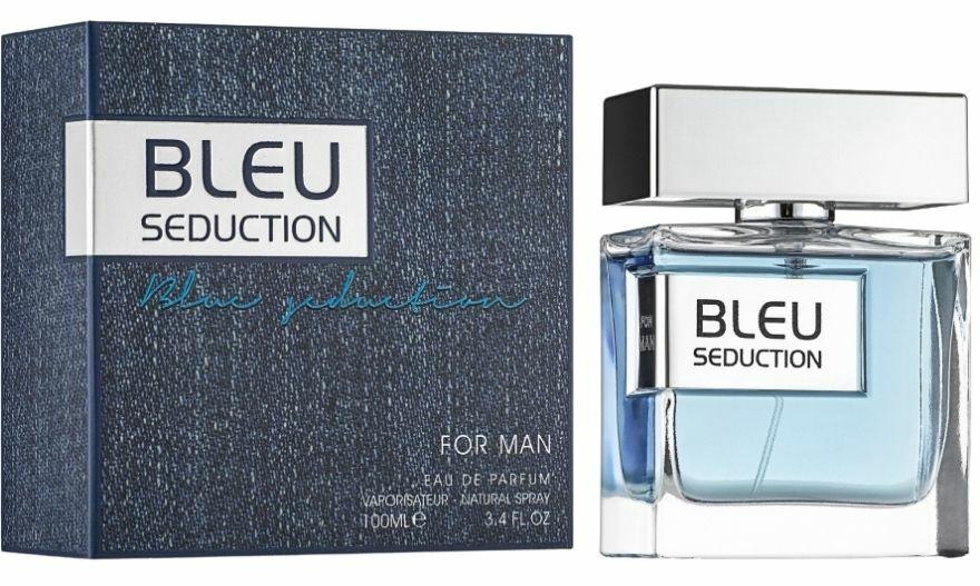 Bleu Seduction For Man by Fragrance World - Arabian, Western and Middle East Perfumes - Muskat Gift Shop Kenya