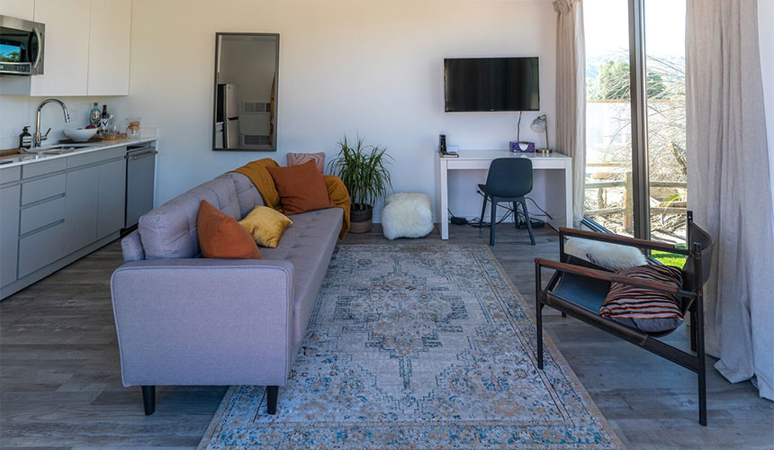 Mighty Studio interior in Palm Springs