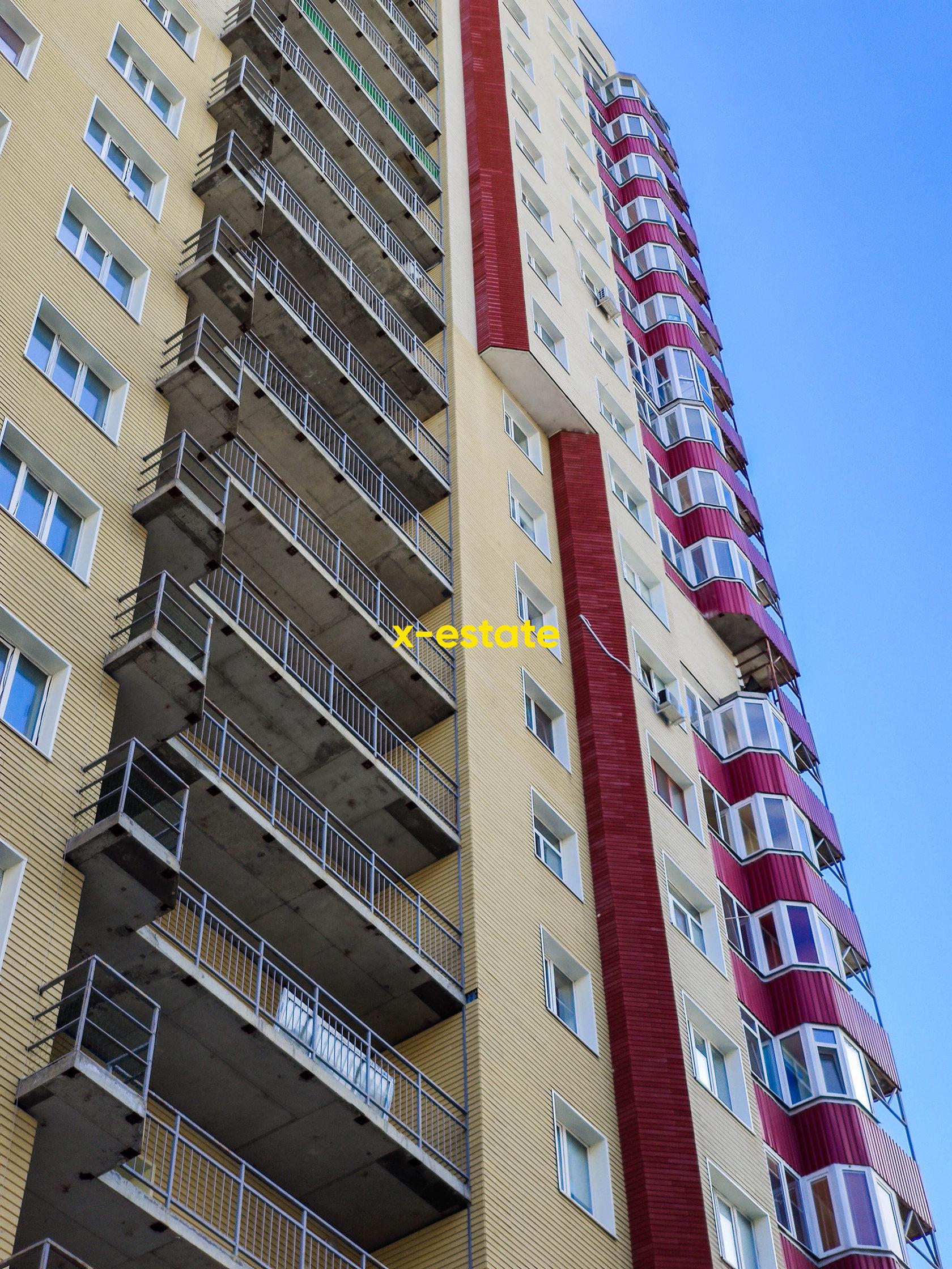Балконы ЖК Триумф