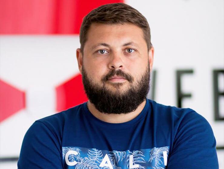 Сергей Безворотний, журналист/SMM Партии Шария в Херсоне - фото