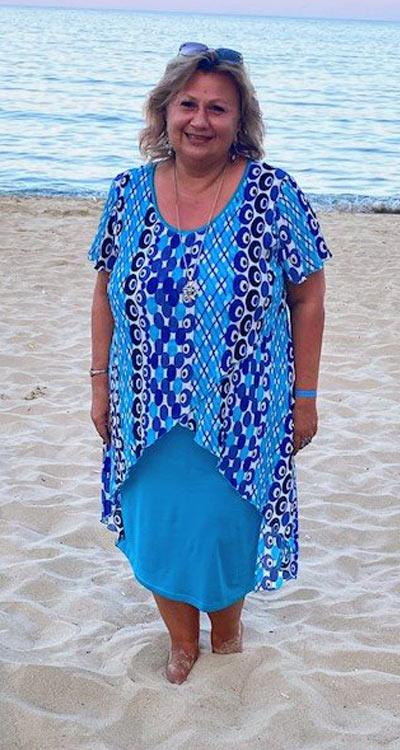Модерни летни рокли и в големи размери - макси мода.