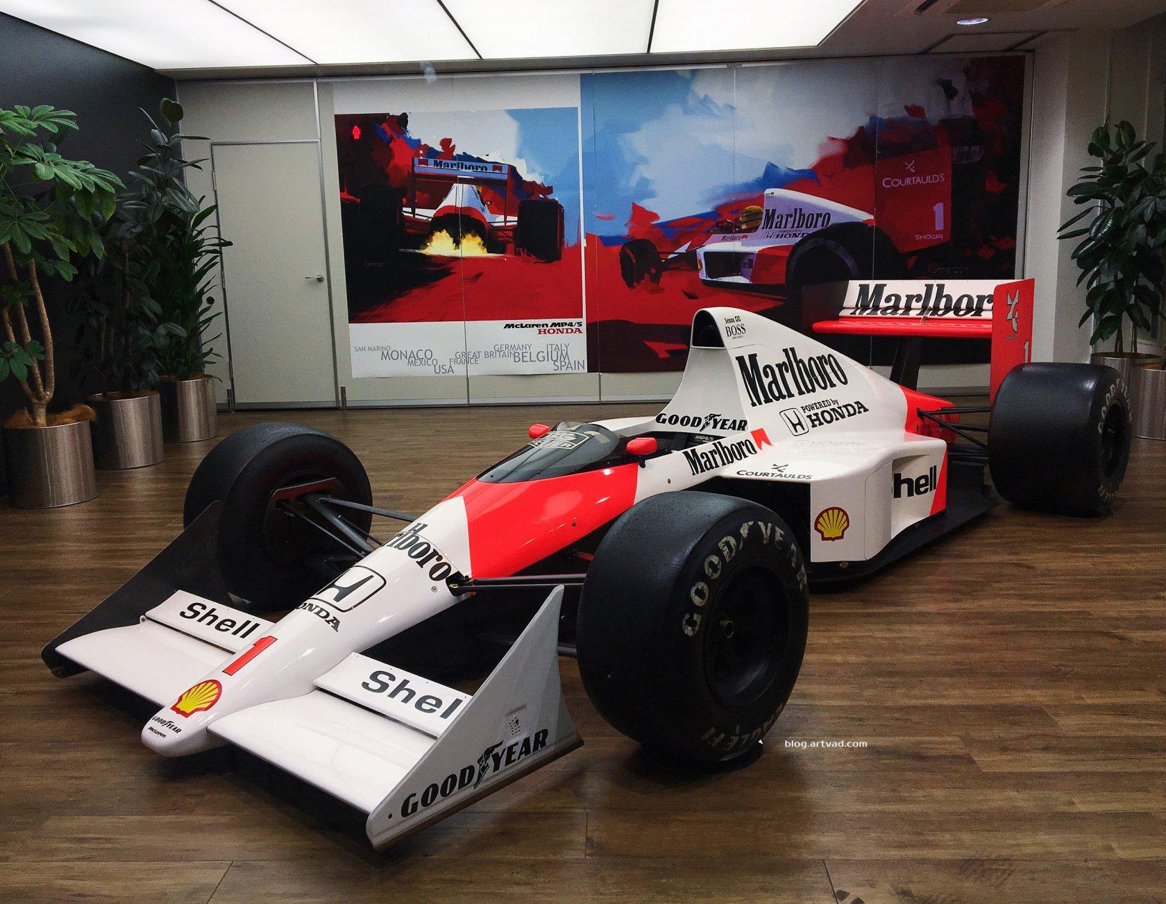 McLaren MP4/5 @Honda Design Tokyo Studio