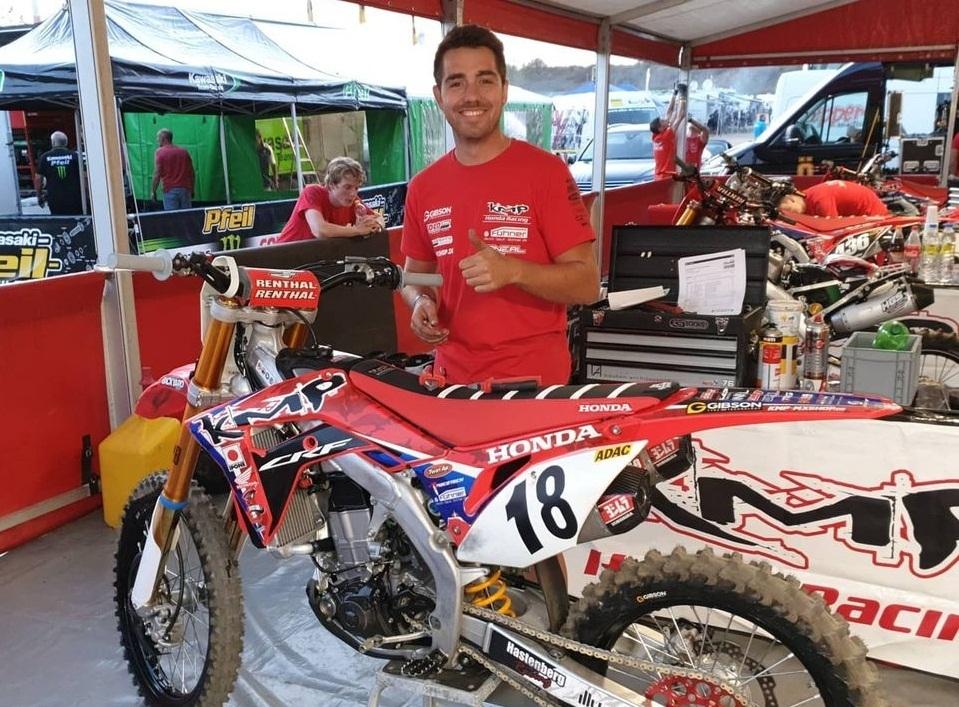 Команда KMP Honda Racing на первом этапе ADAC MX Masters 2020