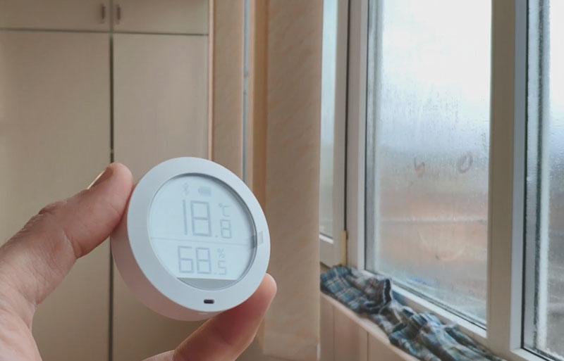 влажность в комнате