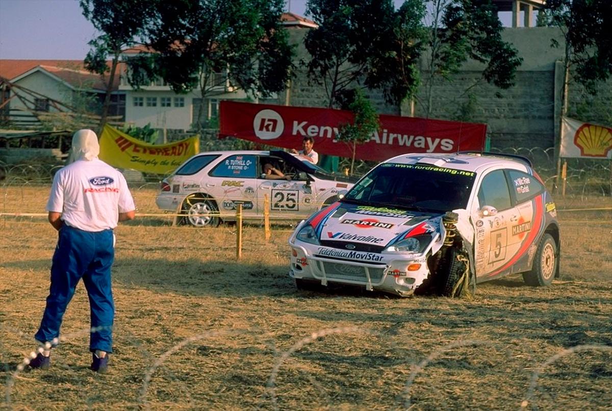 Колин Макрей, Ford Focus RS WRC, ралли «Сафари» 2000