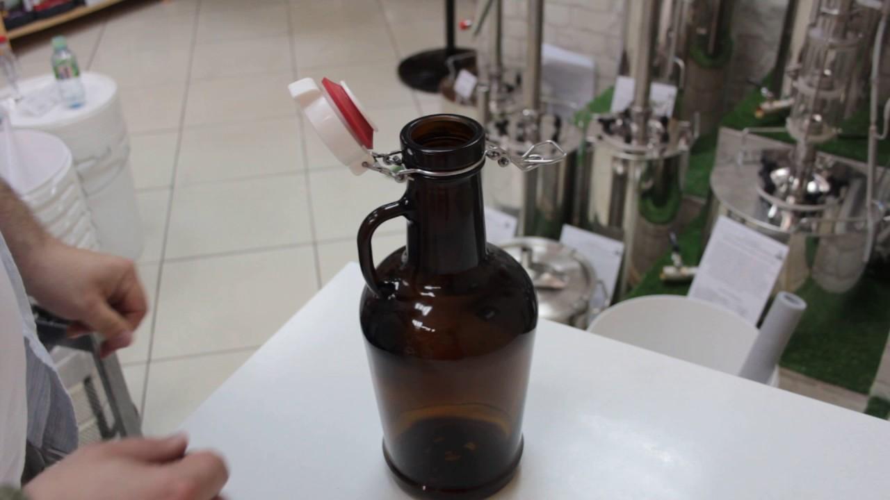 Как стерилизовать бугельные бутылки?