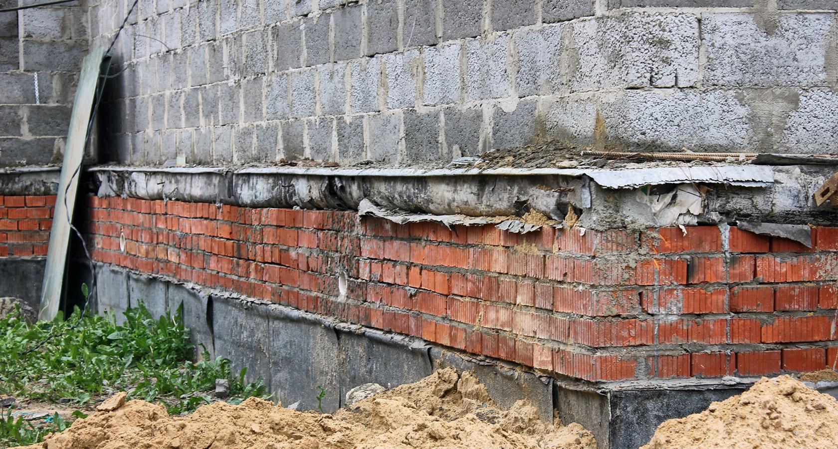гидроизоляция кирпичных стен снаружи