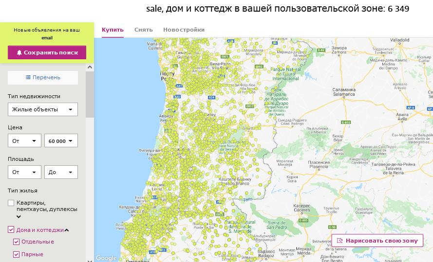 недорогие дома в португалии