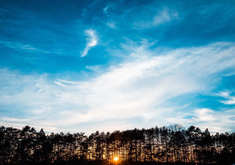 смотрение в небо