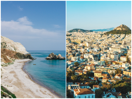 Кипр и Афины в декабре
