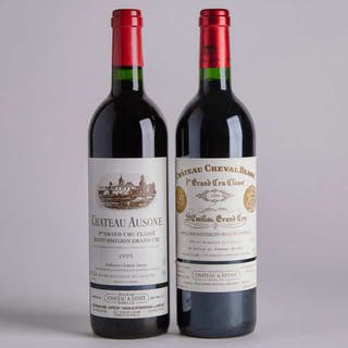 Chateau Ausone and Chateau Cheval Blanc