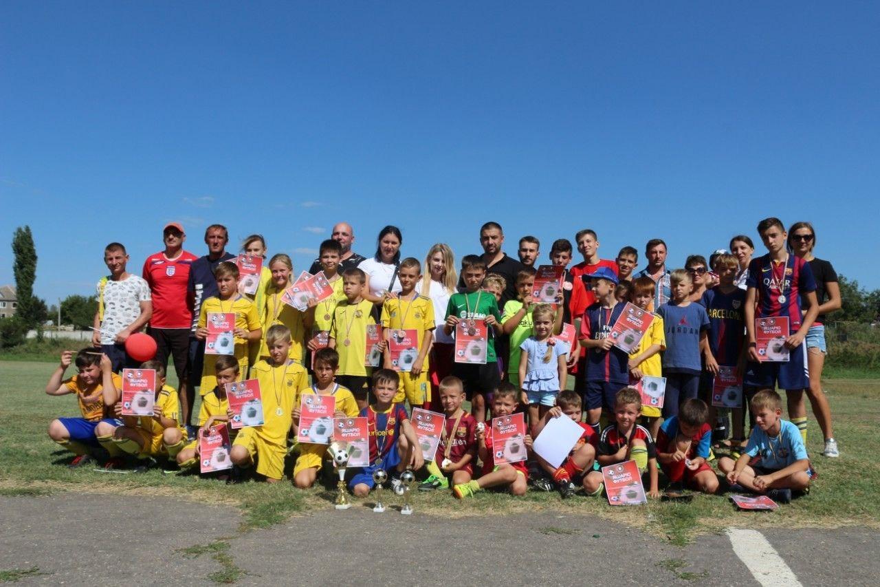 Детский футбольный турнир от партии Шария