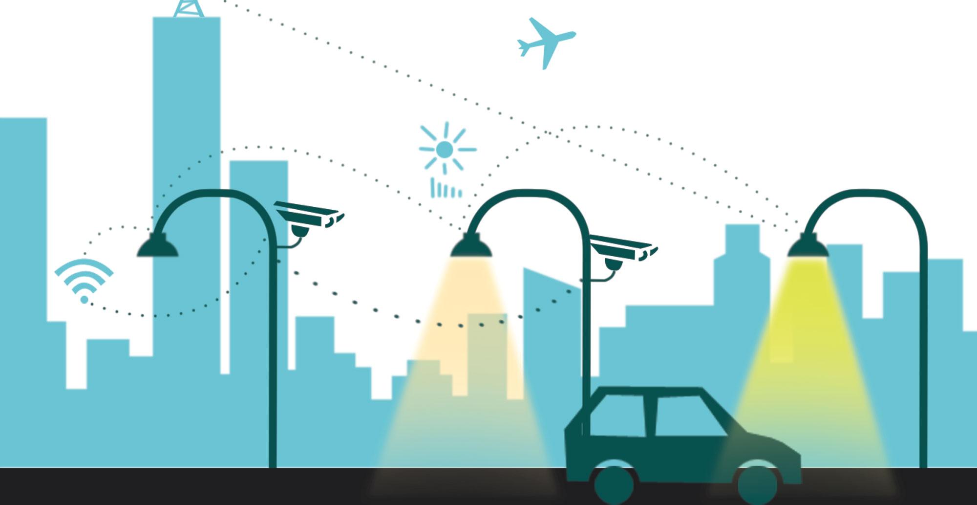 Уличная сеть освещения