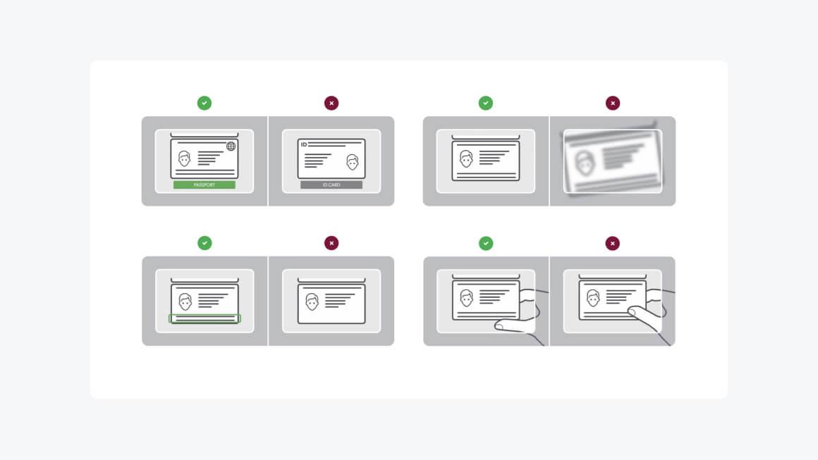 Как фотографировать документы при регистрации вебкам-моделью?