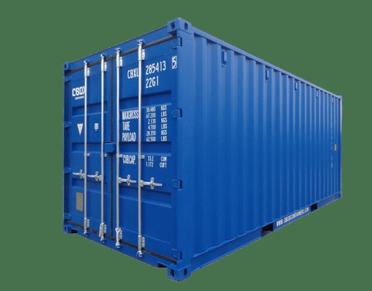 Мини склад контейнер 10 футов ячейка для хранение вещей.