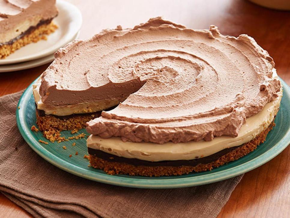 Шоколадно-арахисовый пирог