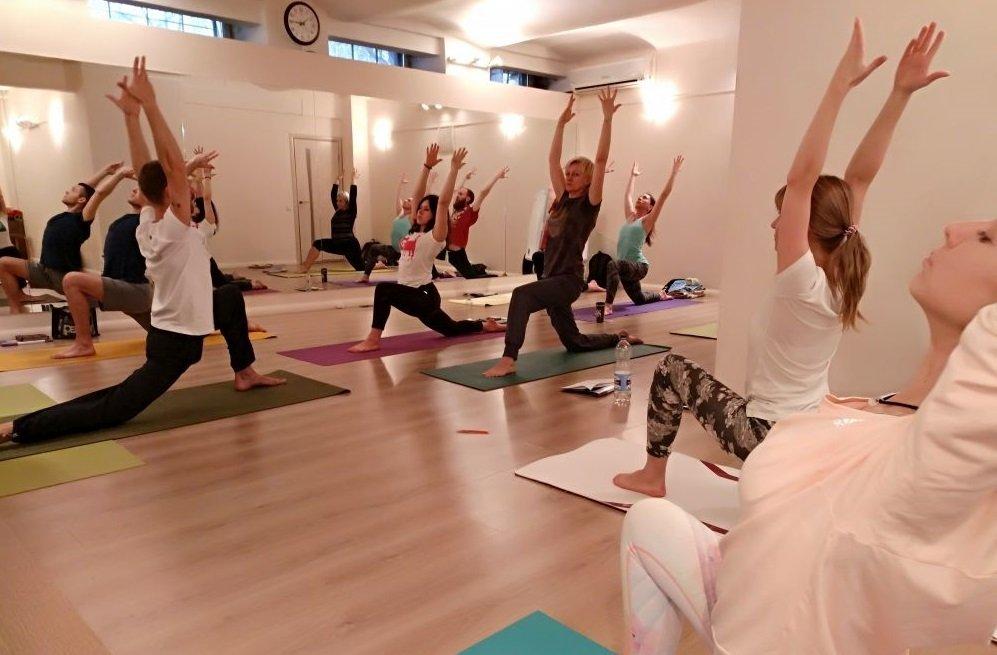 Йога центр обучение