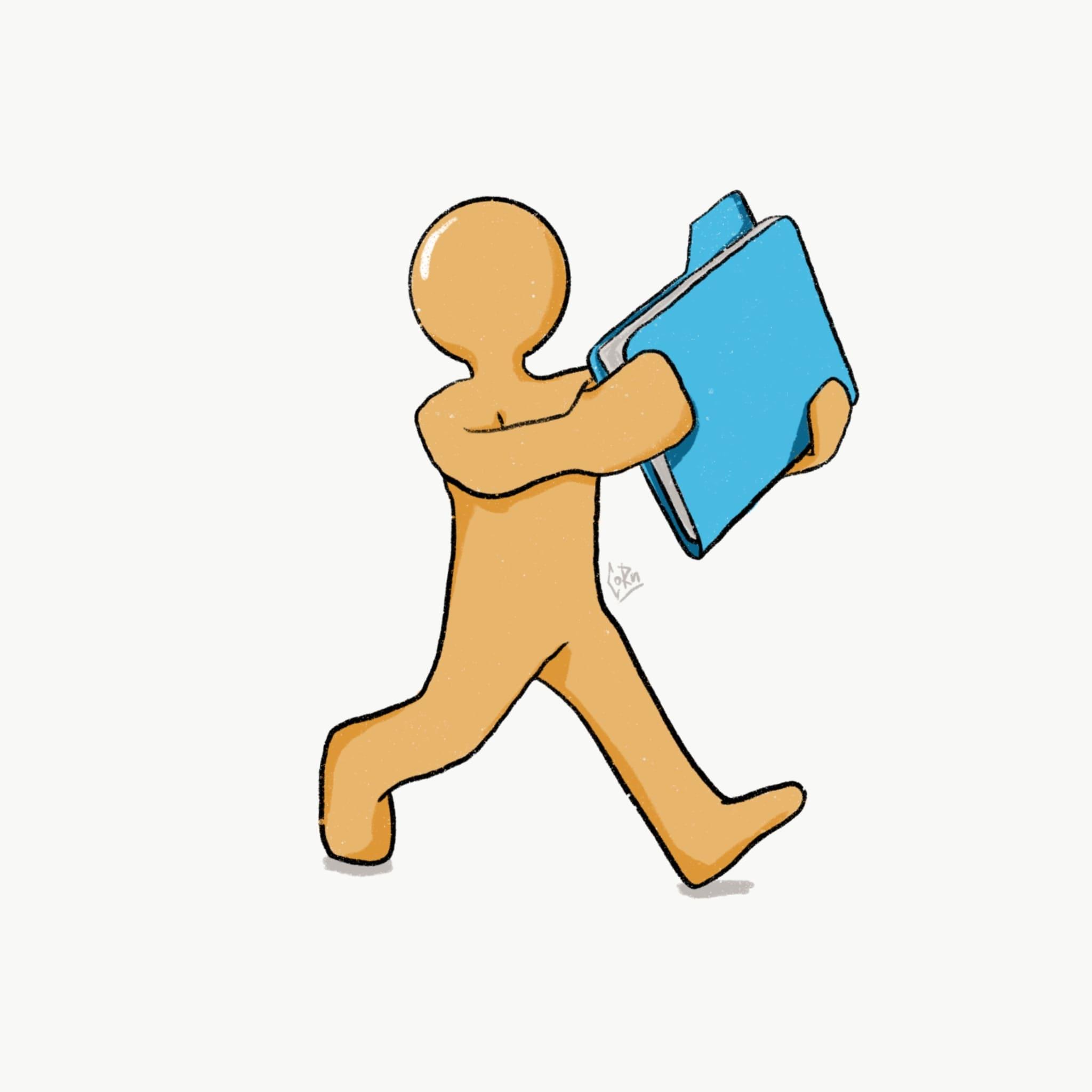 бухгалтер с документами по регистрации прочих обособленных подразделений картинка