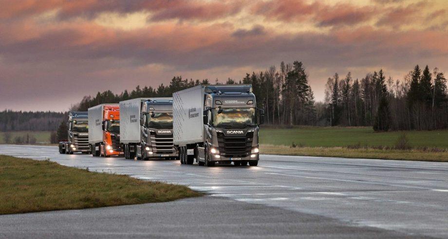 В Scania уверены, что внедрение технологии Platooning станет мощным инструментом оптимизации сферы транспортной логистики (фото: Scania)