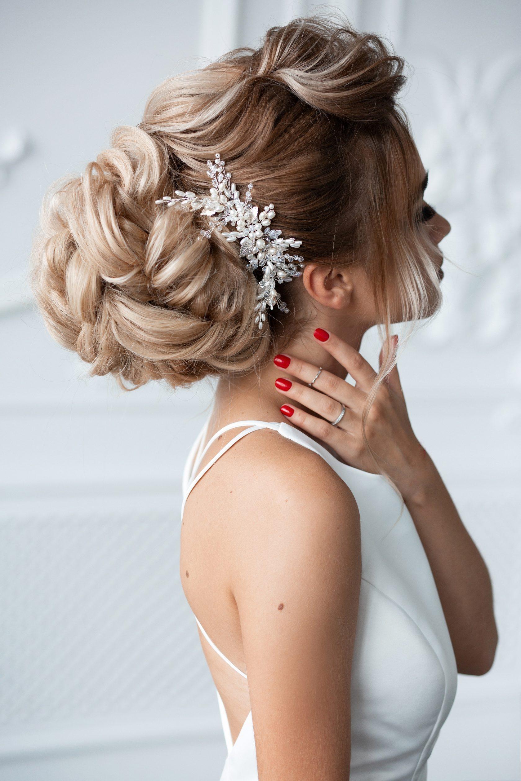 фото красивые свадебные прически
