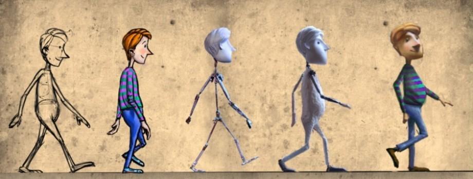 Анимация как сделать мультик, днем защитника отечества