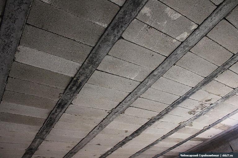 перекрытия в домах из керамзитобетона